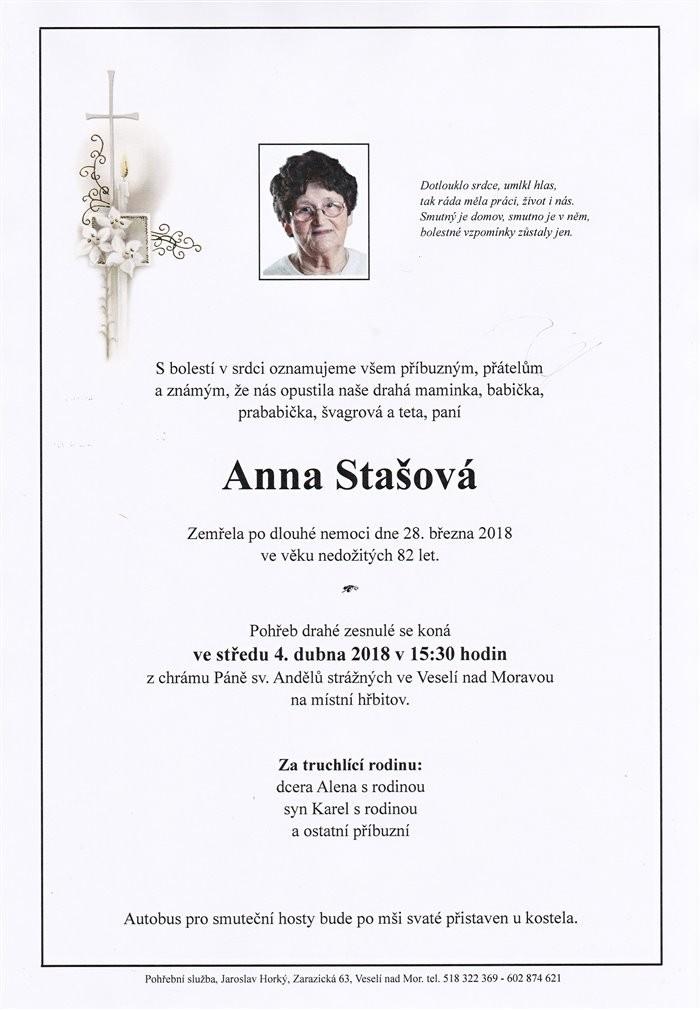 Anna Stašová