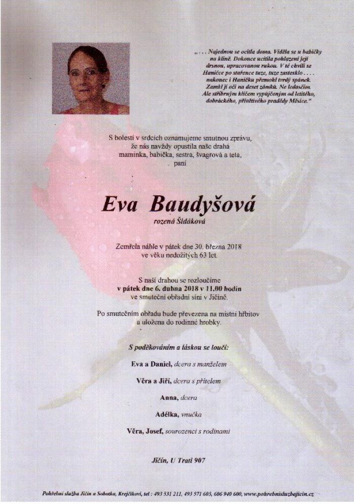 Eva Baudyšová