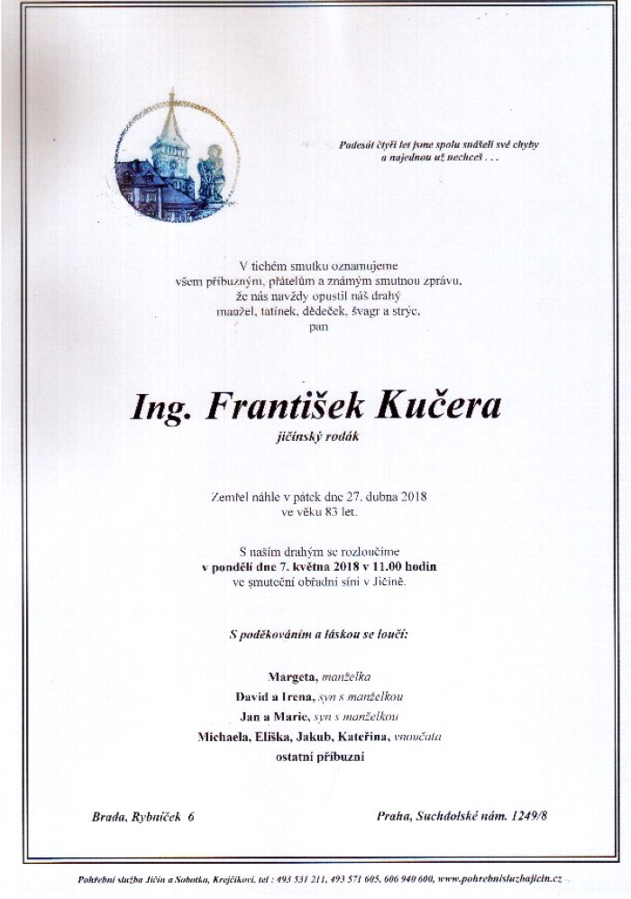Ing. František Kučera