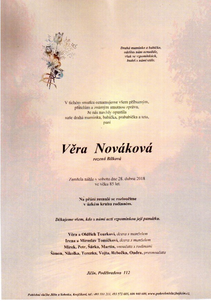 Věra Nováková