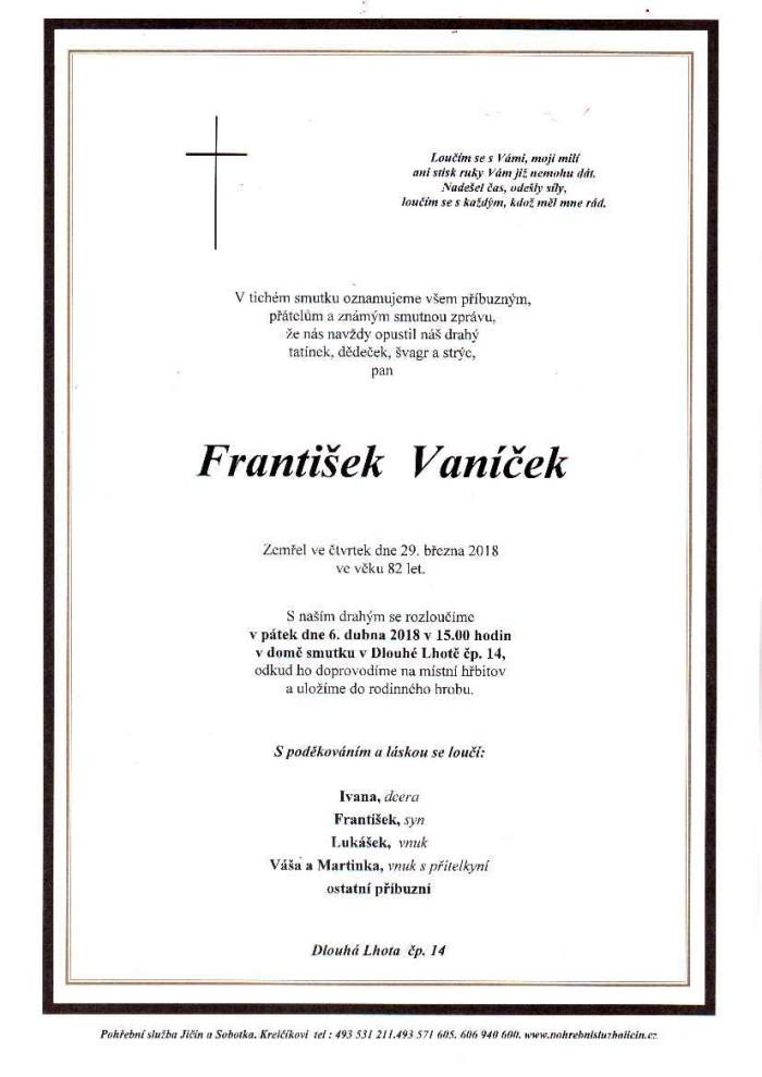 František Vaníček