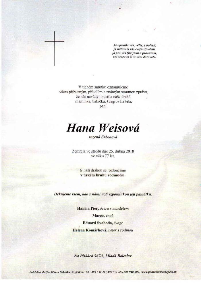 Hana Weisová