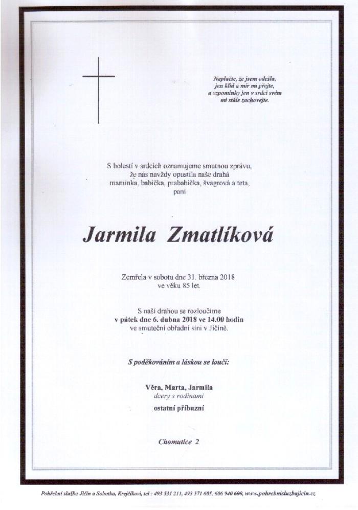 Jarmila Zmatlíková
