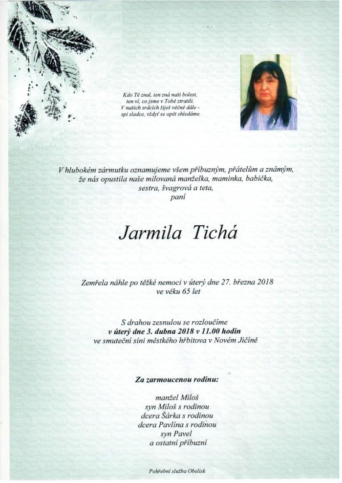 Jarmila Tichá