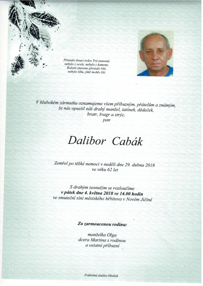 Dalibor Cabák