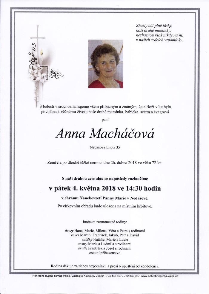 Anna Macháčová