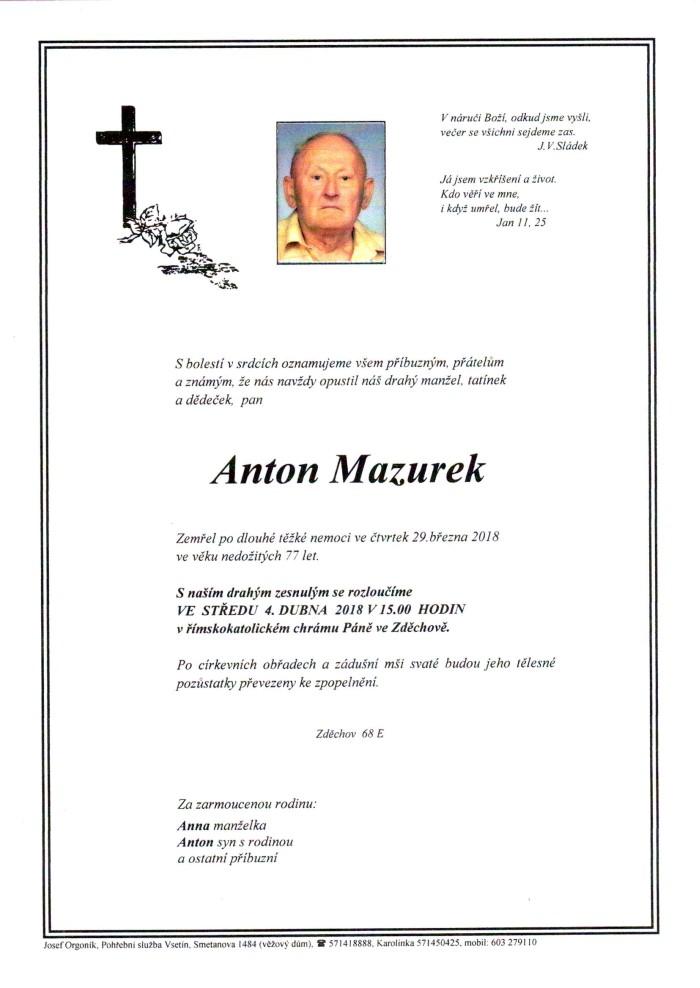 Anton Mazurek
