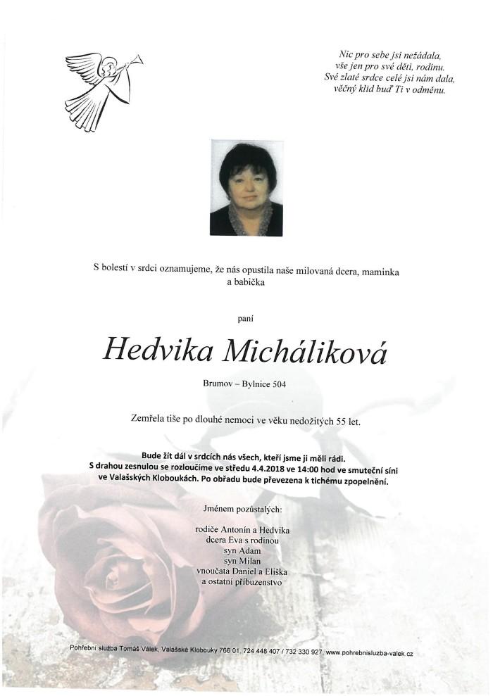Hedvika Micháliková