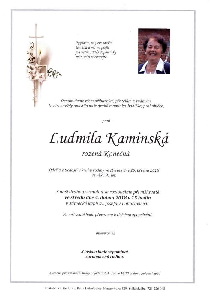 Ludmila Kaminská