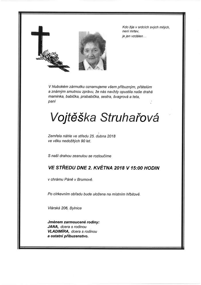 Vojtěška Struhařová