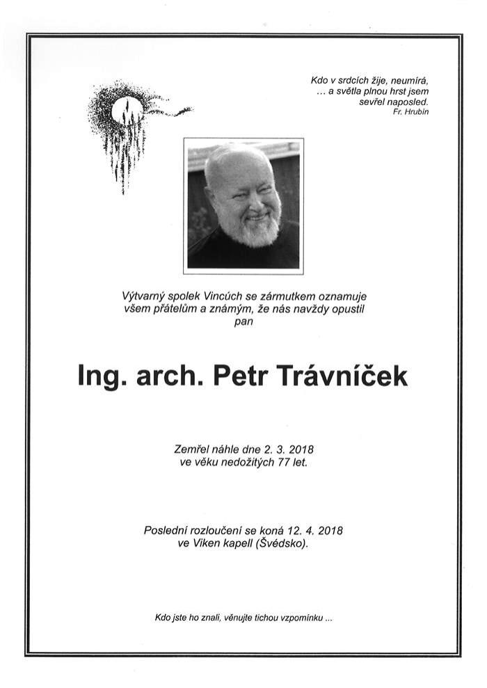 Ing. arch. Petr Trávníček
