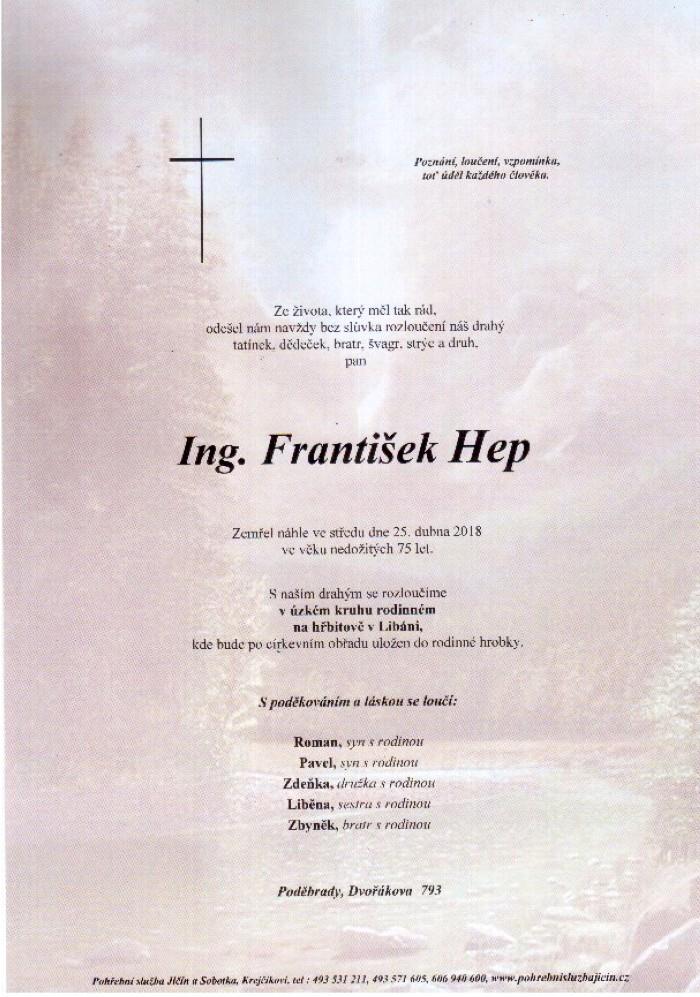 Ing. František Hep