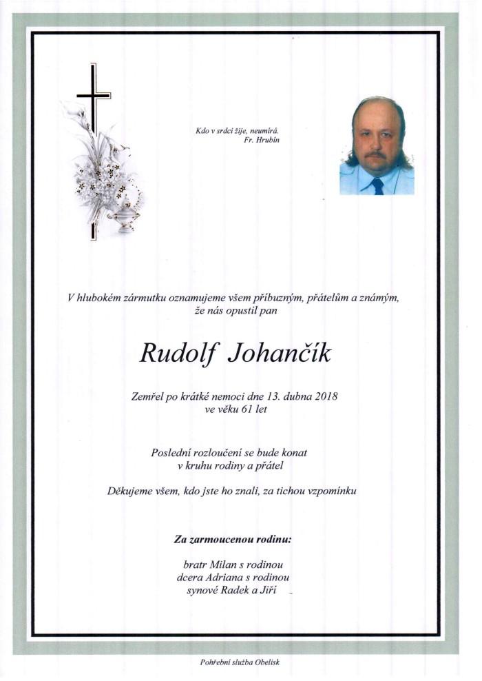 Rudolf Johančík