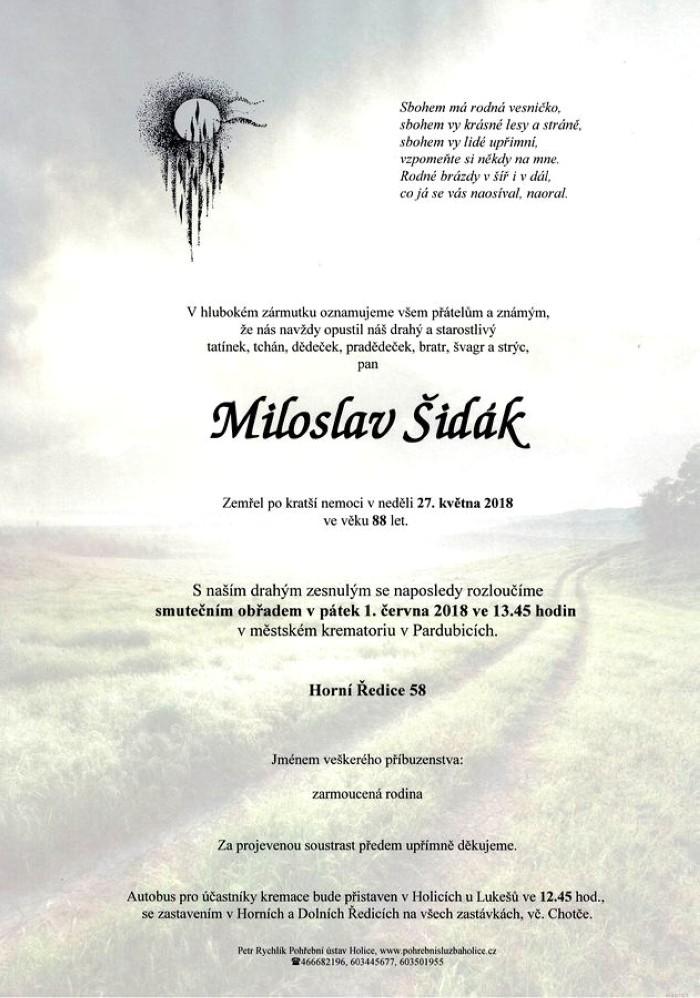 Miloslav Šidák