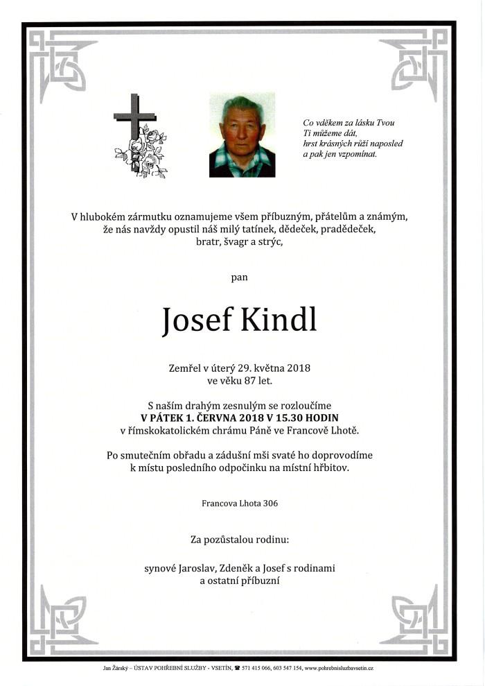Josef Kindl