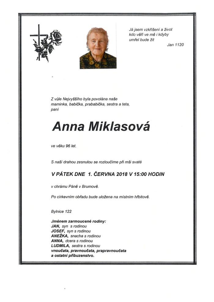 Anna Miklasová