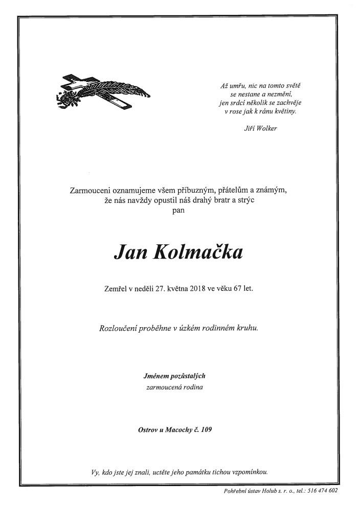 Jan Kolmačka