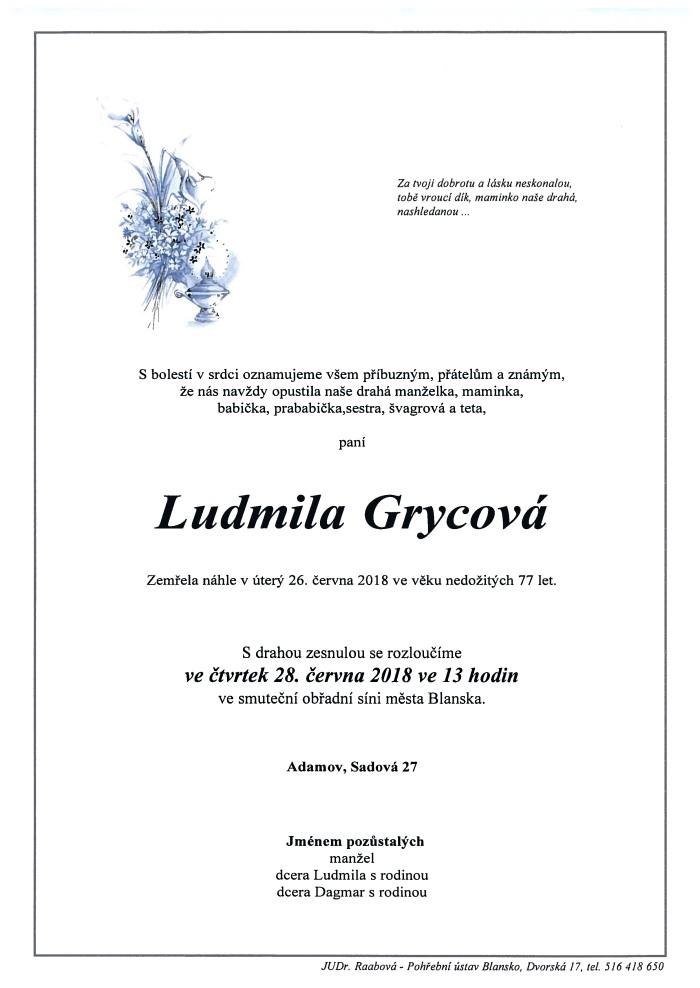 Ludmila Grycová