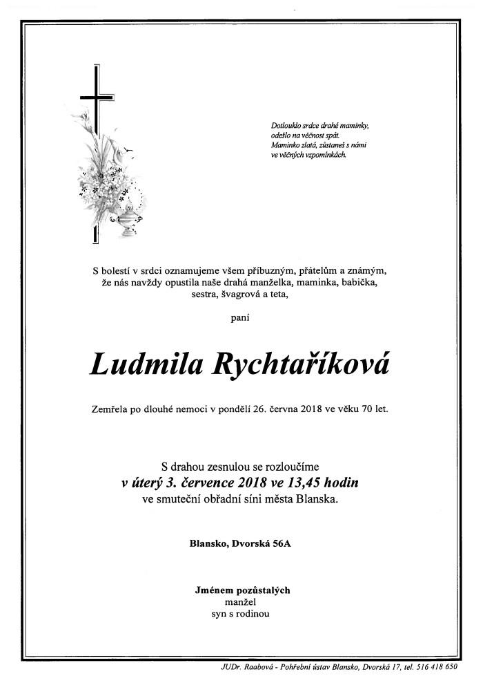 Ludmila Rychtaříková