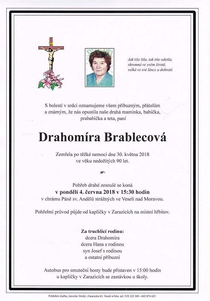 Drahomíra Brablecová