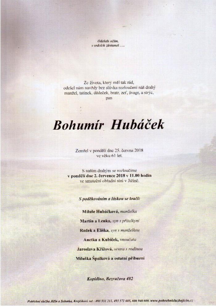 Bohumír Hubáček