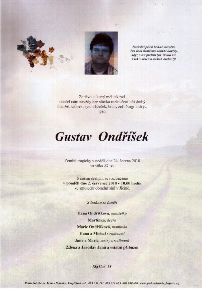 Gustav Ondříček