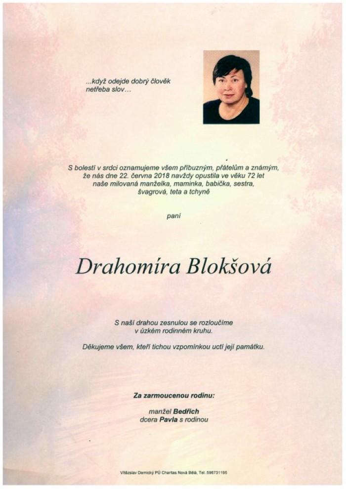 Drahomíra Blokšová