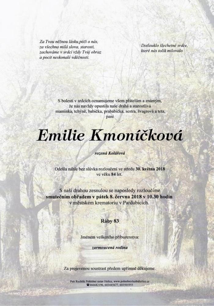 Emilie Kmoníčková