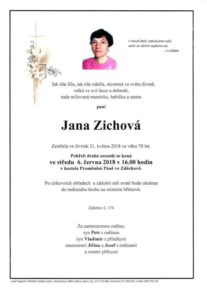 Jana Zichová