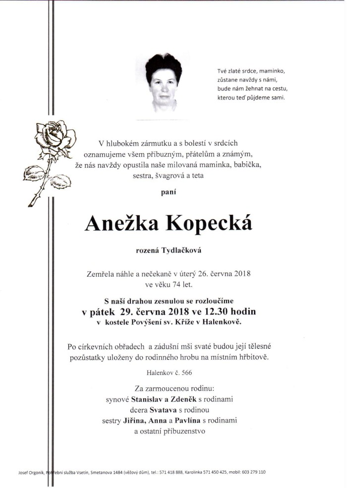 Anežka Kopecká