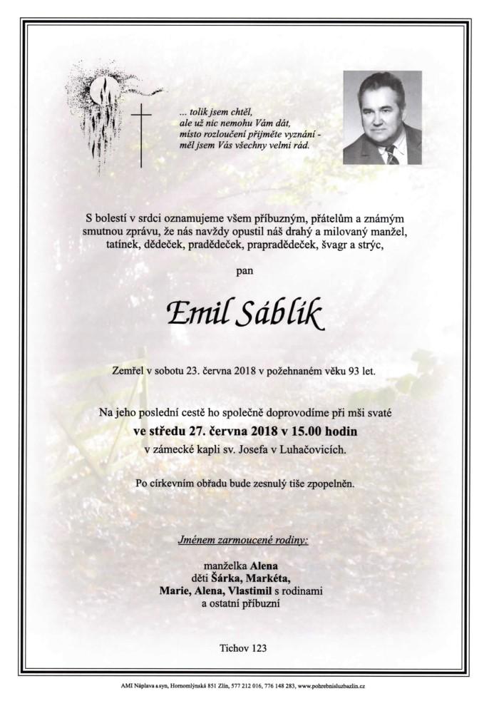 Emil Sáblík