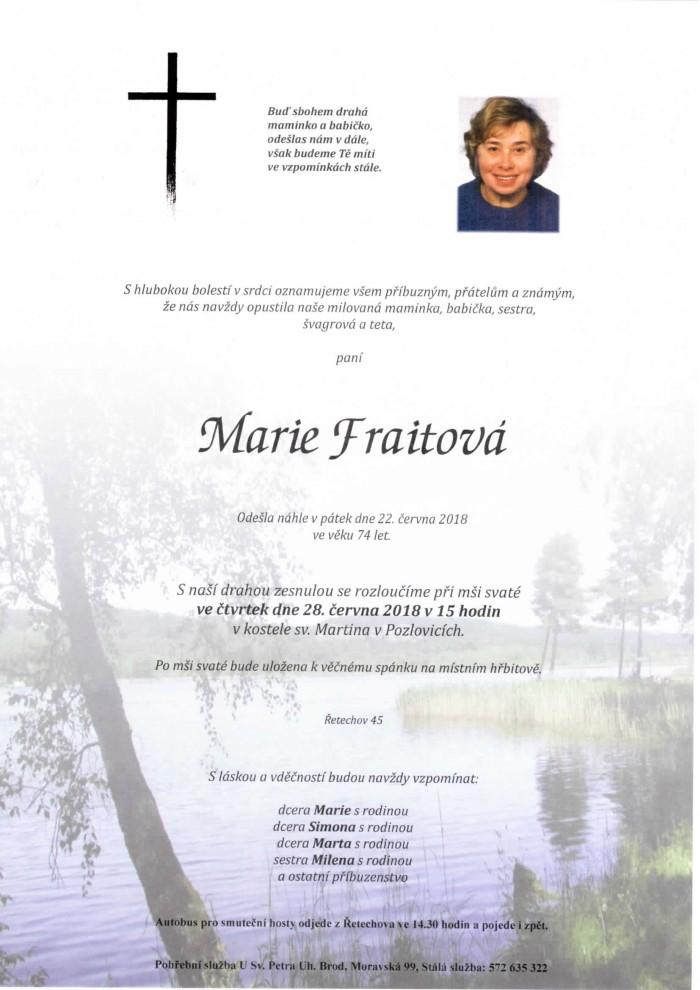 Marie Fraitová