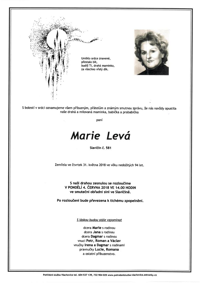 Marie Levá