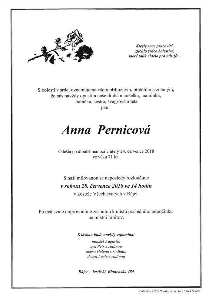 Anna Pernicová