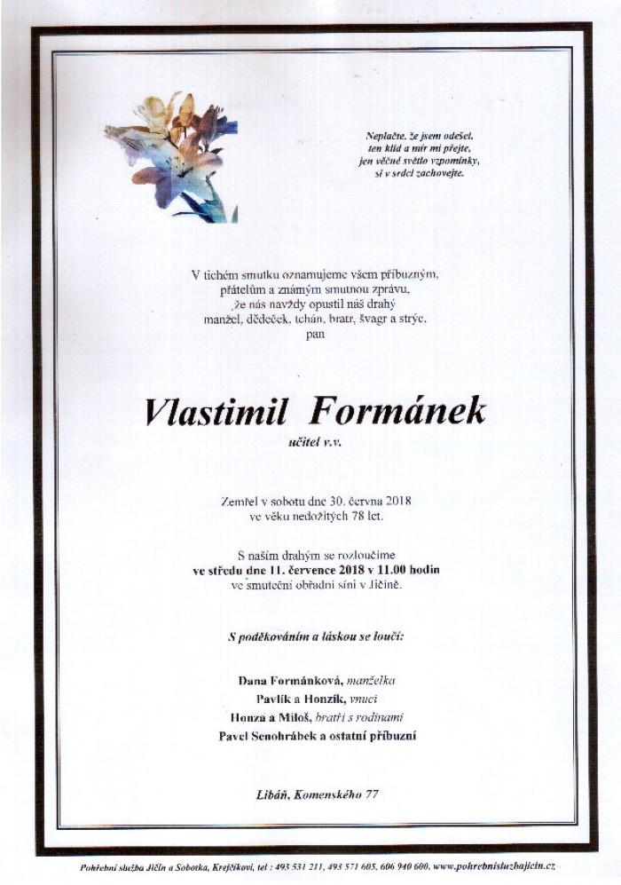 Vlastimil Formánek
