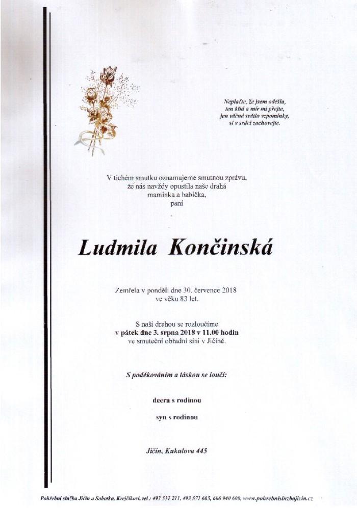 Ludmila Končinská