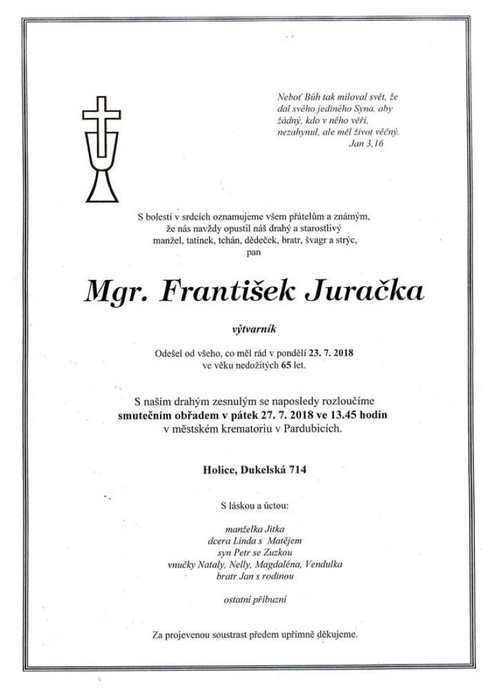 Mgr. František Juračka