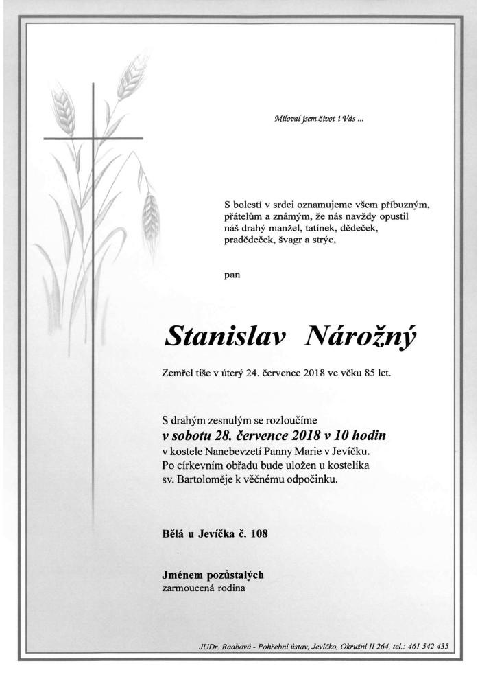 Stanislav Nárožný