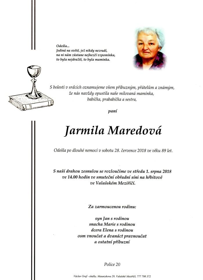 Jarmila Maredová