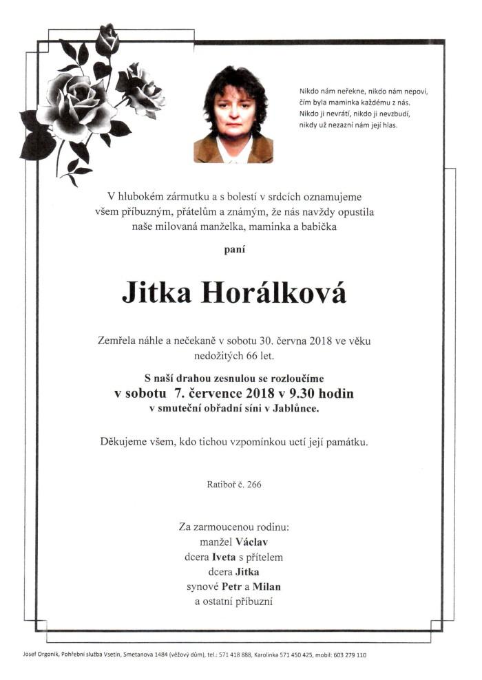 Jitka Horálková