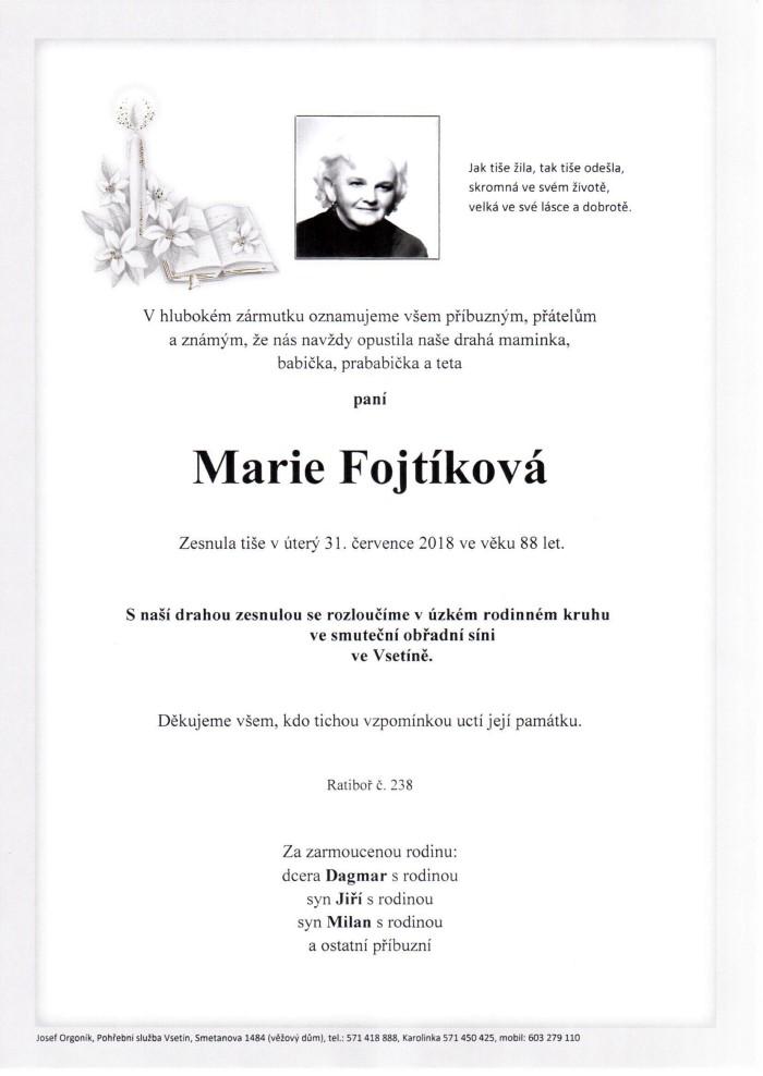 Marie Fojtíková
