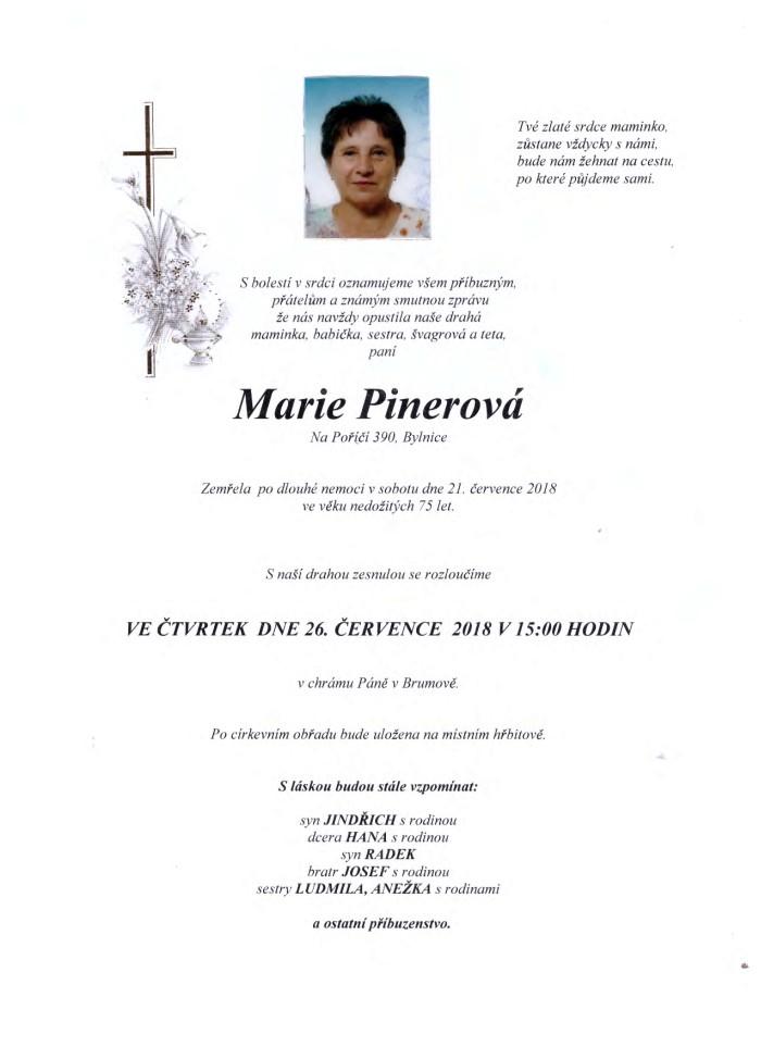 Marie Pinerová
