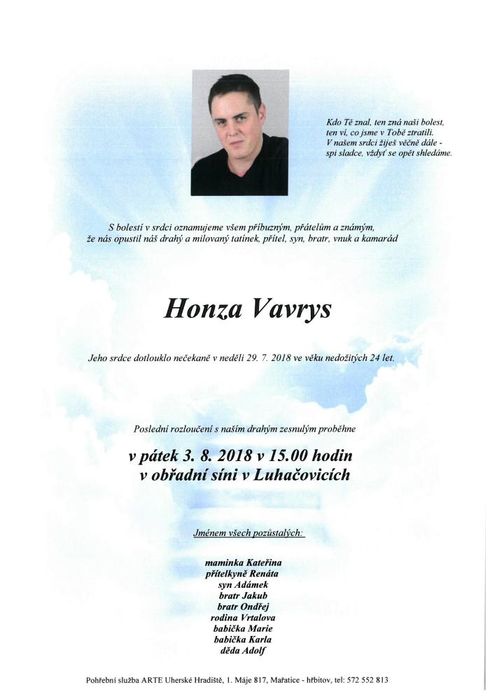 Honza Vavrys