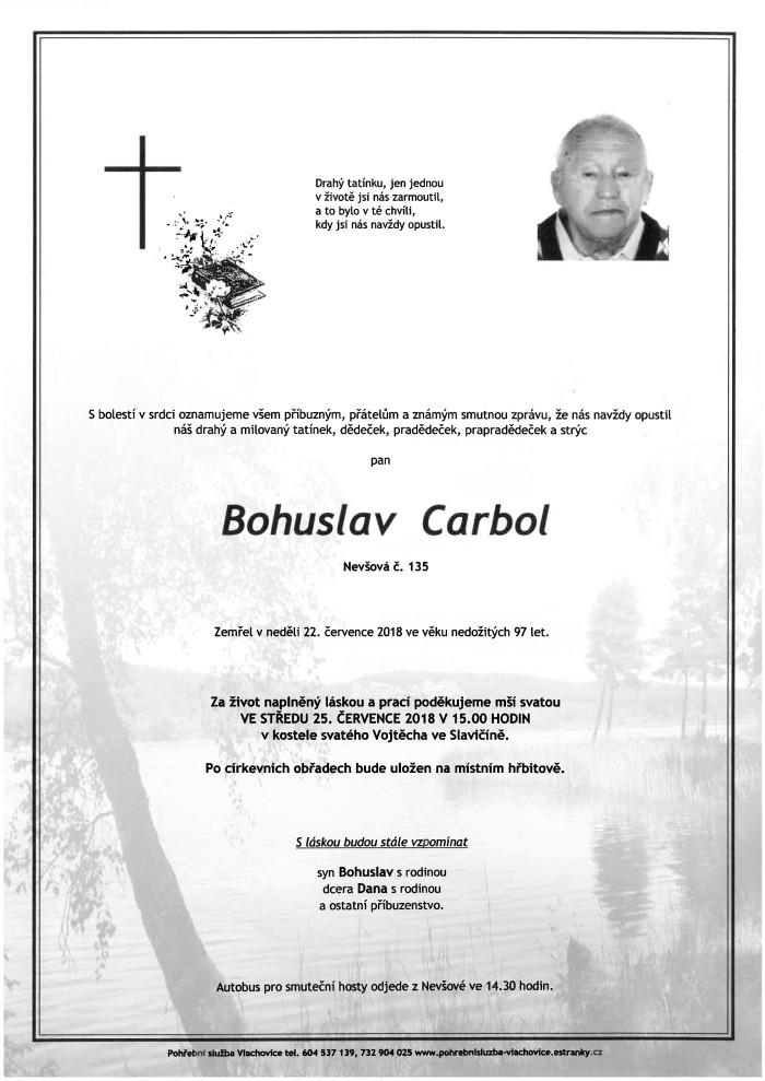 Bohuslav Carbol
