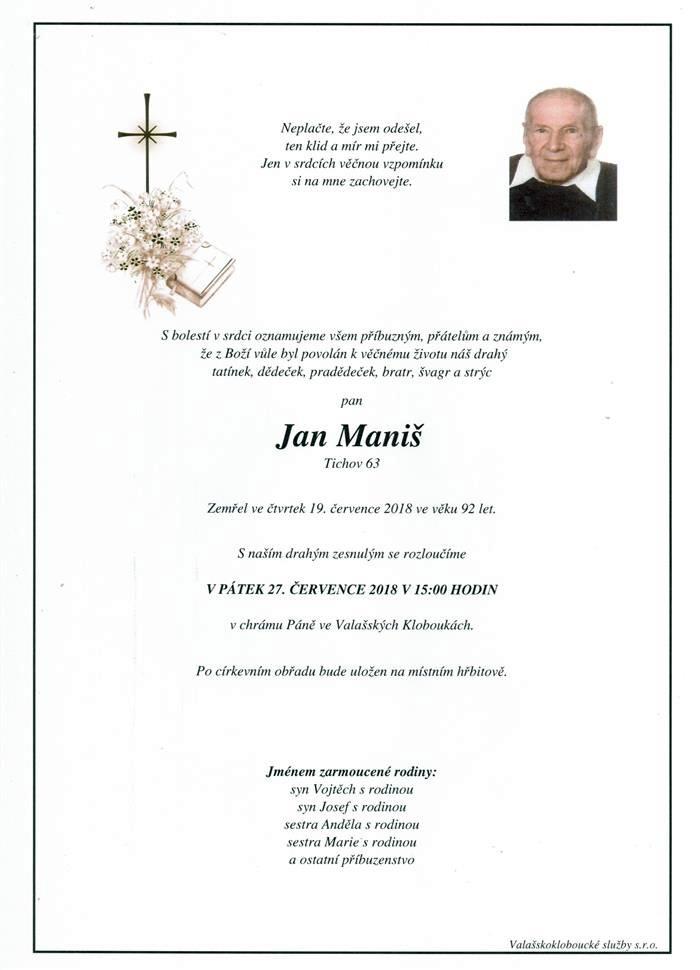 Jan Maniš