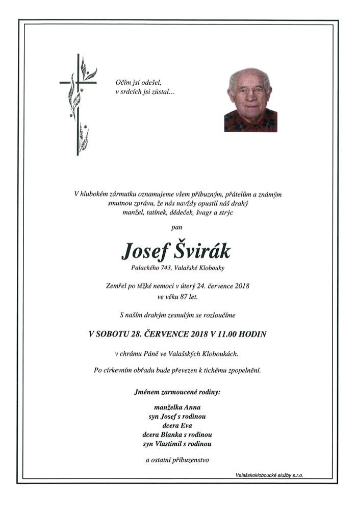 Josef Švirák