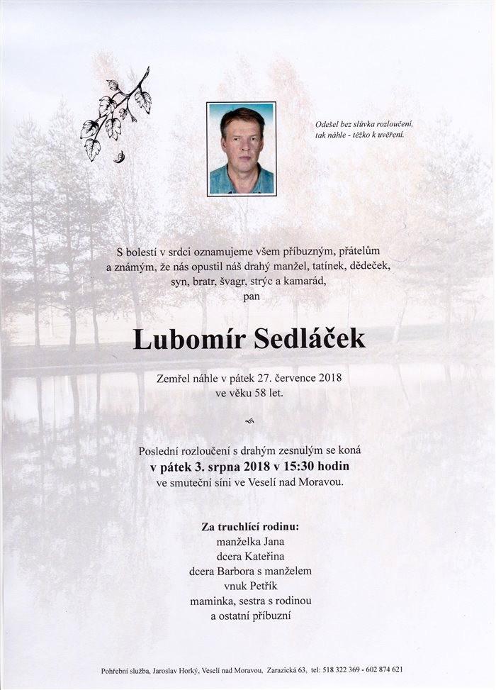 Lubomír Sedláček