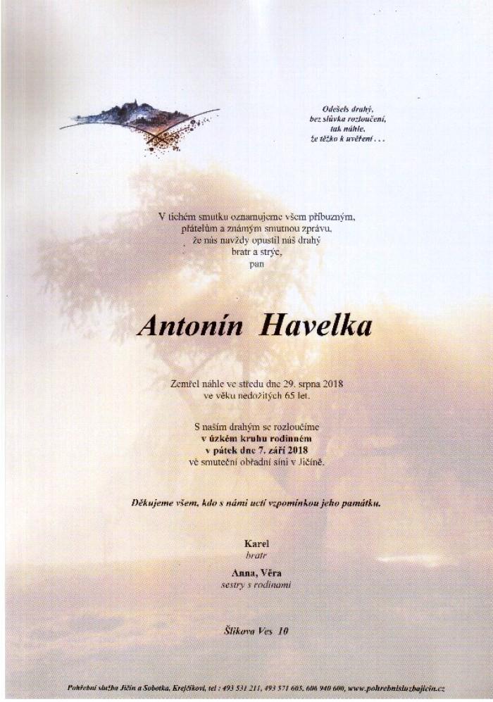 Antonín Havelka