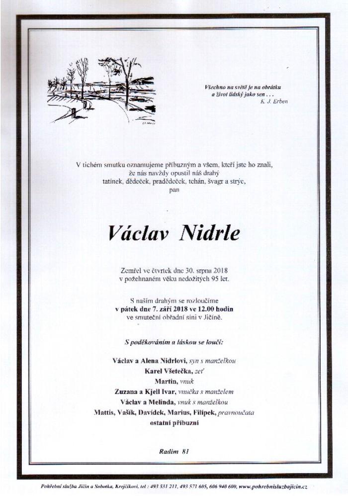 Václav Nidrle