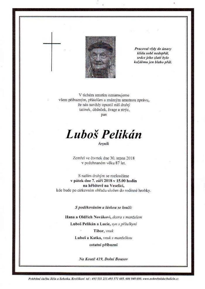 Luboš Pelikán